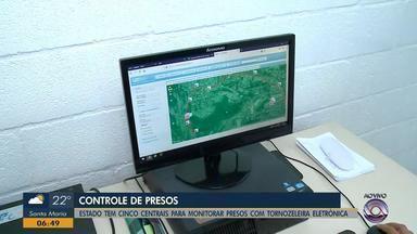 RS tem cinco centrais para monitorar presos com tornozeleira eletrônica - Assista ao vídeo.