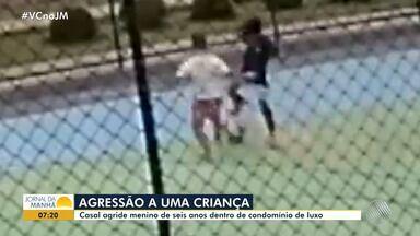 Casal agride menino baiano de 6 anos em Brasília - Eles acharam que a criança havia agredido o filho deles.