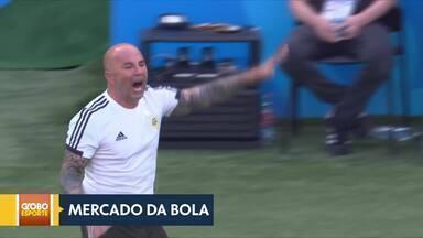 Central do mercado - Santos acerta com técnico Jorge Sampaoli. Corinthians contrata volante Ramiro.