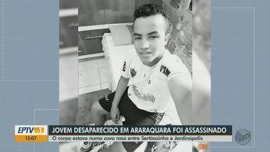 Corpo de ex-jogador de futebol encontrado em estrada é enterrado nesta sexta em Araraquara - Wellington William estava desaparecido. O cadáver dele foi encontrado mutilado dentro de uma cova rasa em estrada que liga Sertãozinho a Jardinópolis.