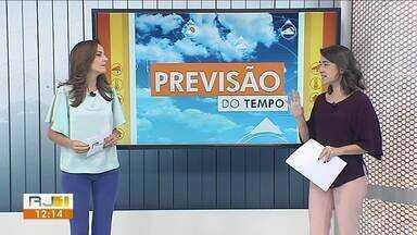 Meteorologia prevê sol e calor no fim de semana no Sul do Rio - Temperaturas passam dos 30 graus.