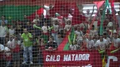 Atlântico joga a primeira partida da final da Liga Gaúcha de Futsal - O jogo é hoje, às 19h, no Caldeirão do Galo.