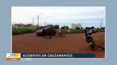 Acidentes em cruzamento: moradores do norte de Palmas cobram sinalização em avenidas - Acidentes em cruzamento: moradores do norte de Palmas cobram sinalização em avenidas