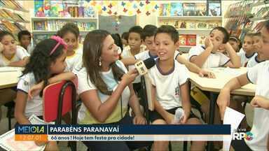 Parabéns aos 66 anos de Paranavaí - Crianças fazem pedidos para um futuro melhor pra cidade.