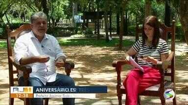 RJTV entrevista prefeito de Três Rios - parte II - No aniversário de 80 anos da cidade, Josimar Salles fala sobre problemas e soluções para o município.