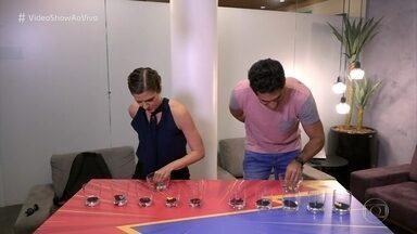 Georgiana Goes e João Baldasserini disputam o jogo das bolinhas - Confira o desempenho da dupla!
