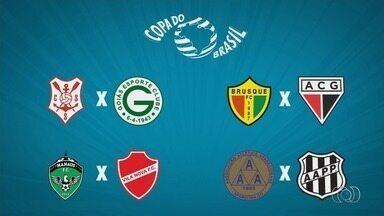 Definidos os adversários dos goianos na primeira fase da Copa do Brasil 2019 - Atlético-GO, Goiás, Vila Nova e Aparecidense já sabem quem vão enfrentar