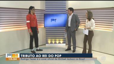 Rodrigo Teaser faz tributo ao Michael Jackson no Piauí - Rodrigo Teaser faz tributo ao Michael Jackson no Piauí