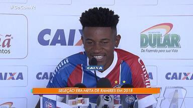 Ramires é convocado para a seleção brasileira sub-20 - O jogador do Bahia falou sobre a convocação; confira.