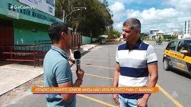 Vitória da Conquista: Estádio Lomanto Júnior não está pronto para o Campeonato Baiano - O time de Vitória da Conquista também não tem técnico definido.