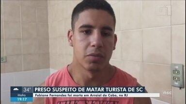Polícia localiza suspeito de matar turista catarinense em trilha no RJ - Polícia localiza suspeito de matar turista catarinense em trilha no RJ