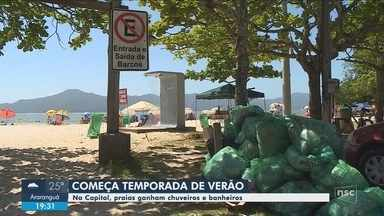 Turistas elencam pontos positivos e negativos na estrutura das praias do Norte da Ilha - Turistas elencam pontos positivos e negativos na estrutura das praias do Norte da Ilha