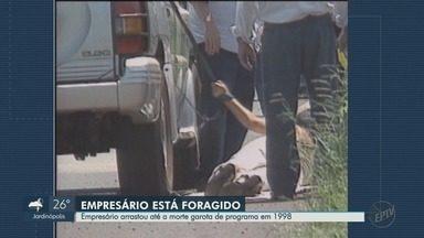Empresário condenado por matar garota de programa há 20 anos está foragido - Polícia pede informações para prender Pablo Russel Rocha.