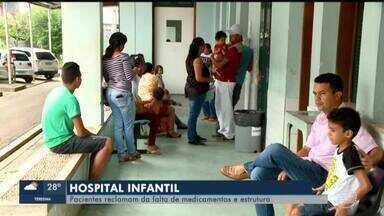Pacientes reclamam de falta de medicamentos no Hospital Infantil em Teresina - Pacientes reclamam de falta de medicamentos no Hospital Infantil em Teresina