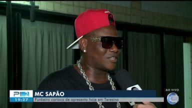 Funkeiro carioca MC Sapão esquenta a noite de Teresina nesta sexta-feira (14) - Funkeiro carioca MC Sapão esquenta a noite de Teresina nesta sexta-feira (14)