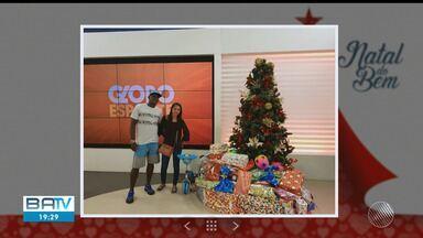 Afeto e solidariedade: TV Bahia realiza campanha 'Natal do Bem'; veja como doar - Sua doação será entregue a entidades carentes; confira os detalhes.