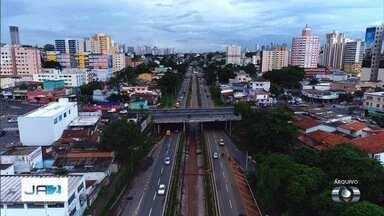 Marginal Botafogo é totalmente liberada para os motoristas após obras de recuperação - Trânsito de ônibus e caminhões passa a ser limitado.