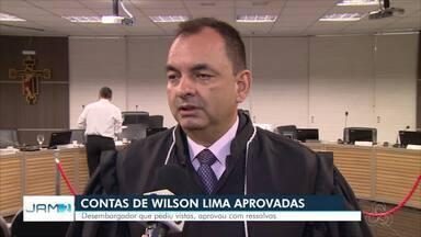 TRE-AM aprova contas de Wilson Lima - Contas foram aprovadas com ressalvas.