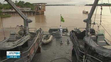 Navios da Marinha abrem para visitação guiada no Amapá pelo 'Dia do Marinheiro' - Programação segue até 20 de dezembro.