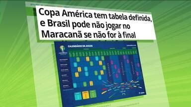 Conmebol divulga tabela da Copa América no Brasil - Conmebol divulga tabela da Copa América no Brasil
