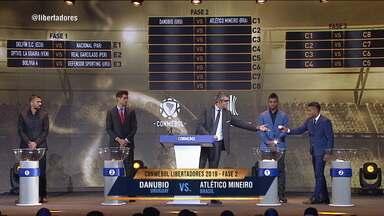 Sorteio de grupos revela times que vão competir na Taça Libertadores de 2019 - Sorteio de grupos revela times que vão competir na Taça Libertadores de 2019