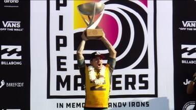 Pela segunda vez, Gabriel Medina conquista o título mundial de surfe - Pela segunda vez, Gabriel Medina conquista o título mundial de surfe
