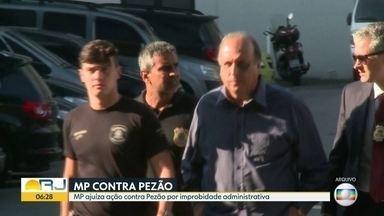 MP ajuíza ação contra Pezão por improbidade administrativa - MP quer que governador tenha R$57,8 milhões bloqueados.