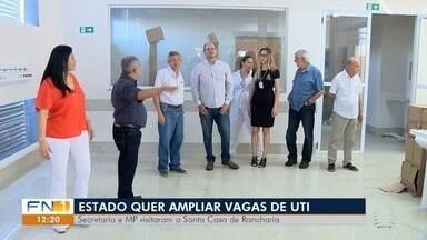 Secretaria de Estado da Saúde anuncia ampliação de vagas de UTI na região - Santa Casa de Presidente Venceslau já recebeu cinco leitos.