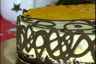 Receita para festa de final de ano: Torta Mousse de Maracujá - Uma dica do JA para ceia de natal.