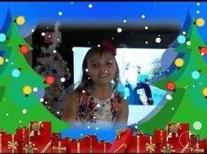 Confira as mensagens de Natal enviadas pelos telespectadores - Telespectadores enviam vídeos e cartões.