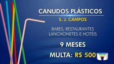 São José dos Campos proíbe uso de canudos - Câmara aprovou projeto na quinta-feira.