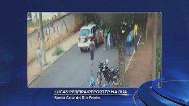 Polícia Militar salva bebê recém-nascida engasgada em Santa Cruz do Rio Pardo - Pais da criança são de Piraju, mas haviam levado o bebê para Santa Cruz do Rio Pardo para uma consulta médica.