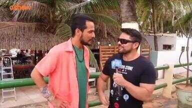 Bastidores do telefilme 'Baião de Dois' - Daniel Viana conversa com o elenco da produção cearense