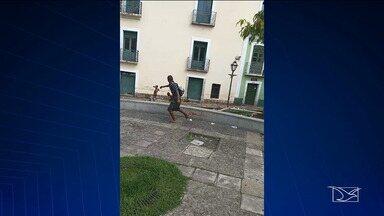 Vandalismo e roubos causam medo em pontos turísticos de São Luís - A reportagem é de Douglas Pinto e Elson Paiva.