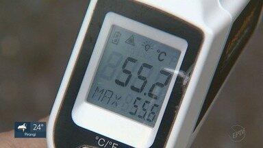 Sensação térmica chega a 55ºC em Ribeirão Preto - Chegada do verão aumenta temperaturas na região.