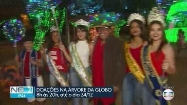 Faltando poucos dias para o Natal, ainda é possível levar doações para a árvore da Globo - População pode fazer entregas na Rua da Aurora, no Centro