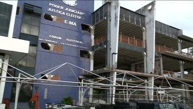 AGU cobra milhões na Justiça por atraso em obras do Fórum Eleitoral de São Luís - O TRE pediu uma vistoria na obra depois de perceber vários problemas.