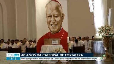 Parte dos restos mortais de Dom Aloisio Lorscheider será enterrada na Cripta da Catedral - Outras informações no g1.com.br/ce