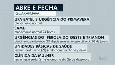 Veja o que abre e o que fecha em Guarapuava durante o Natal - Bancos,comércio e supermercados abrirão na véspera do Natal.