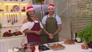 Solange Couto ensina fazer a rabanada perfeita - Felipe Tito recebe a atriz no seu quadro culinário