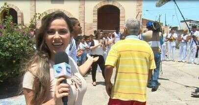 """Jamile Pavlova acompanha bastidores do """"SE1 nos bairros"""" - Repórter ficou na cola da equipe do telejornal do meio-dia"""