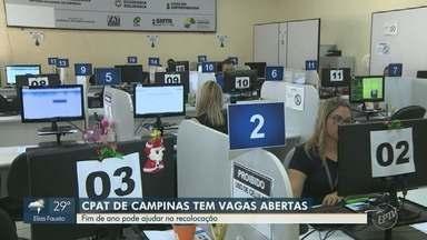 Cinco cidades da região estão entre as que mais criaram empregos com carteira assinada - Balanço do Caged mostra que Campinas (SP) abriu sete mil postos de trabalho.