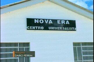 Centro espiritualista Nova Era distribui cestas básicas a comunidade - A ação acontece todos os anos.