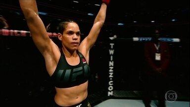 Amanda Nunes se prepara para o UFC 232 - Amanda Nunes se prepara para o UFC 232