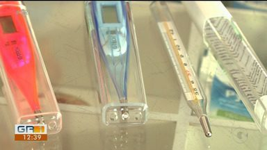 Termômetro de mercúrio deixará de ser vendido em 2019 - Será permitida apenas a venda do termômetro digital.