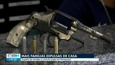 Mais moradores são expulsos de casa, em Maracanaú - Um suspeito foi preso, por tirar famílias do bairro Colônia. Outras informações no g1.com.br/ce