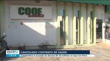 Prefeitura de Feira suspende contrato com cooperativa acusada de desviar dinheiro - Investigação do Ministério Público Estadual foi divulgada na semana passada e teve 9 pessoas presas.