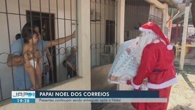 Crianças recebem presentes e visita do 'Papai Noel dos Correios' em Macapá - Entrega de presentes é a última etapa de ação social que contemplou cerca de 4 mil crianças.