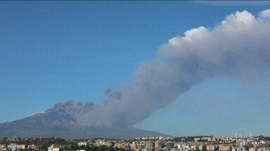 Erupção do Etna causa mil tremores secundários após terremoto - Erupção do vulcão mais ativo da Europa deixou 600 pessoas desalojadas