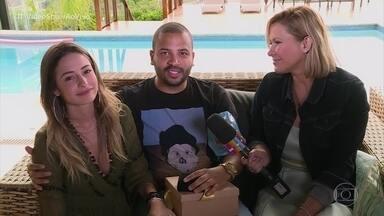 Projota e Tamy Contro planejam casamento em 2019 - Casal conta sobre tempo em que ficaram separados e como foi o pedido de casamento após reatarem o namoro